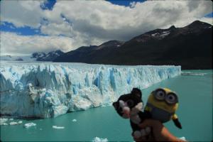 Tic et Tac au Perito Moreno