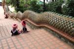 Chiang Mai - un peu plus bas du temple en l'air